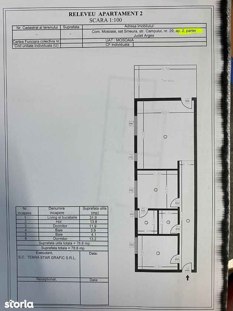 Apartamente 3 camere in complex Trivale   Campului