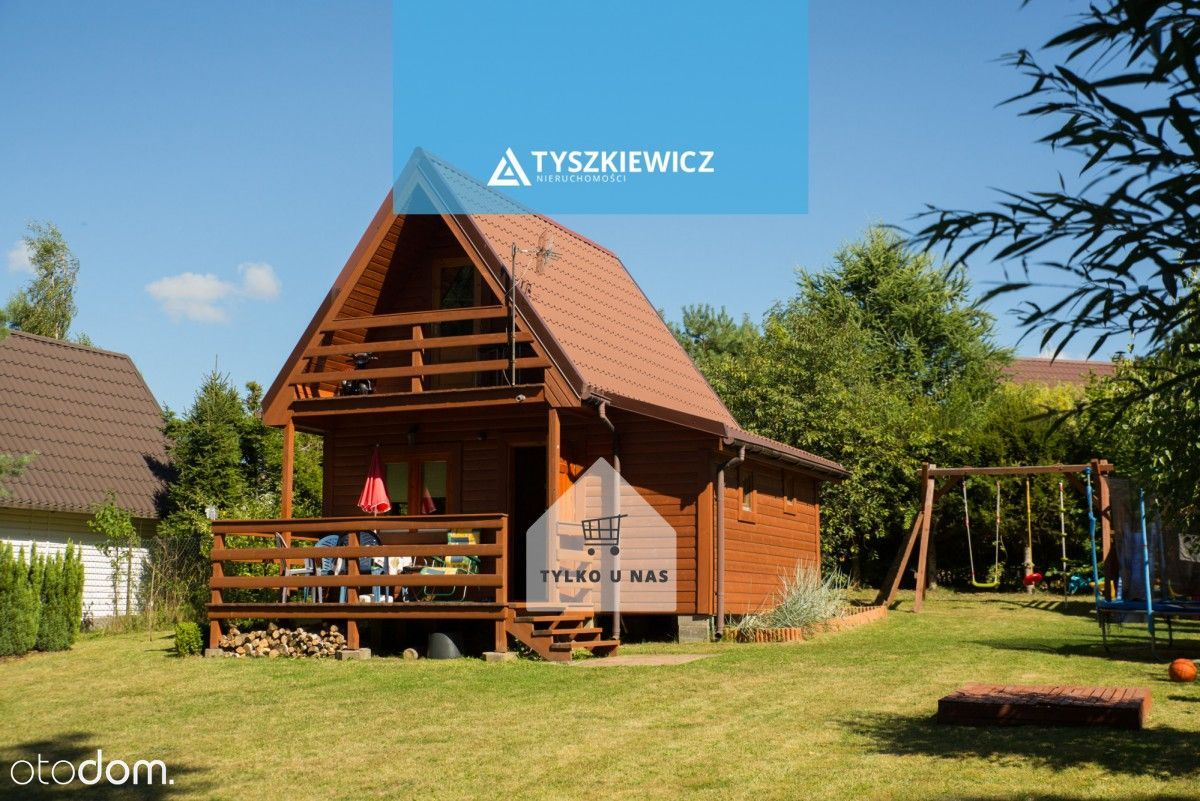 Domek nad jeziorem w Łapinie