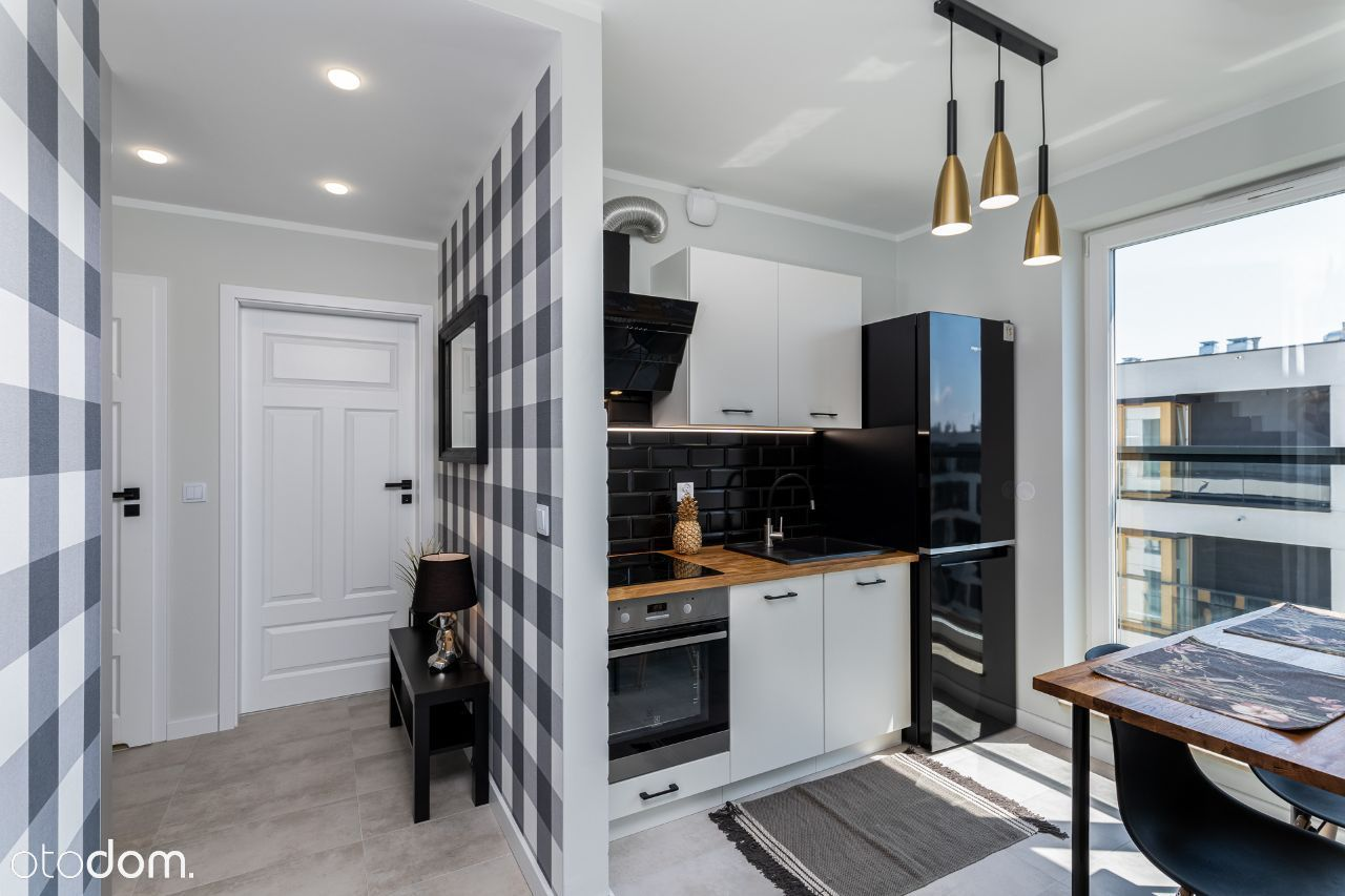 Nowe - wysoki standard 2 pokoje + kuchnia; garaż