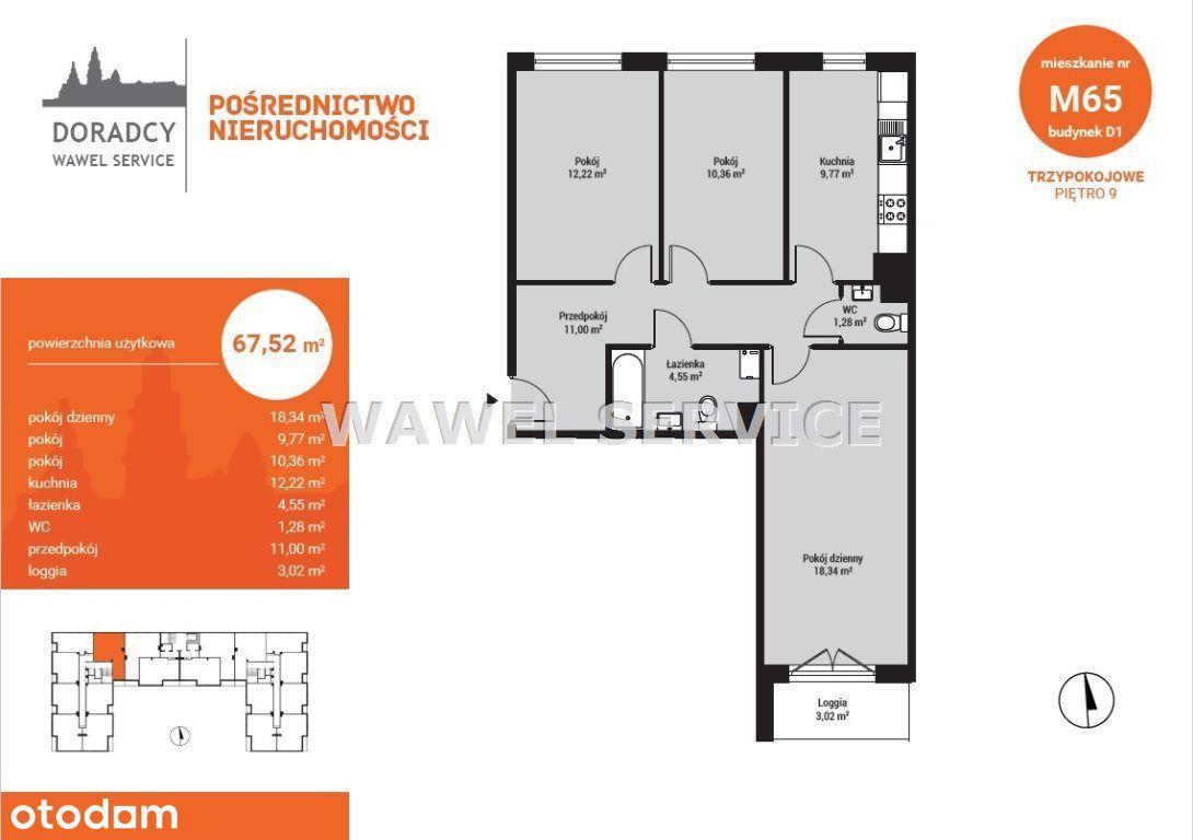 Osidle Piastów - 3 Pokojowe Mieszkanie + Kuchnia