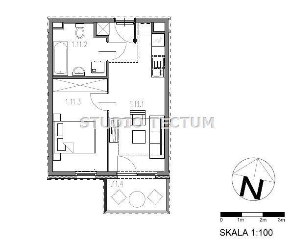 2 pokojowe Inwestycja Osiedle Telimeny balkon