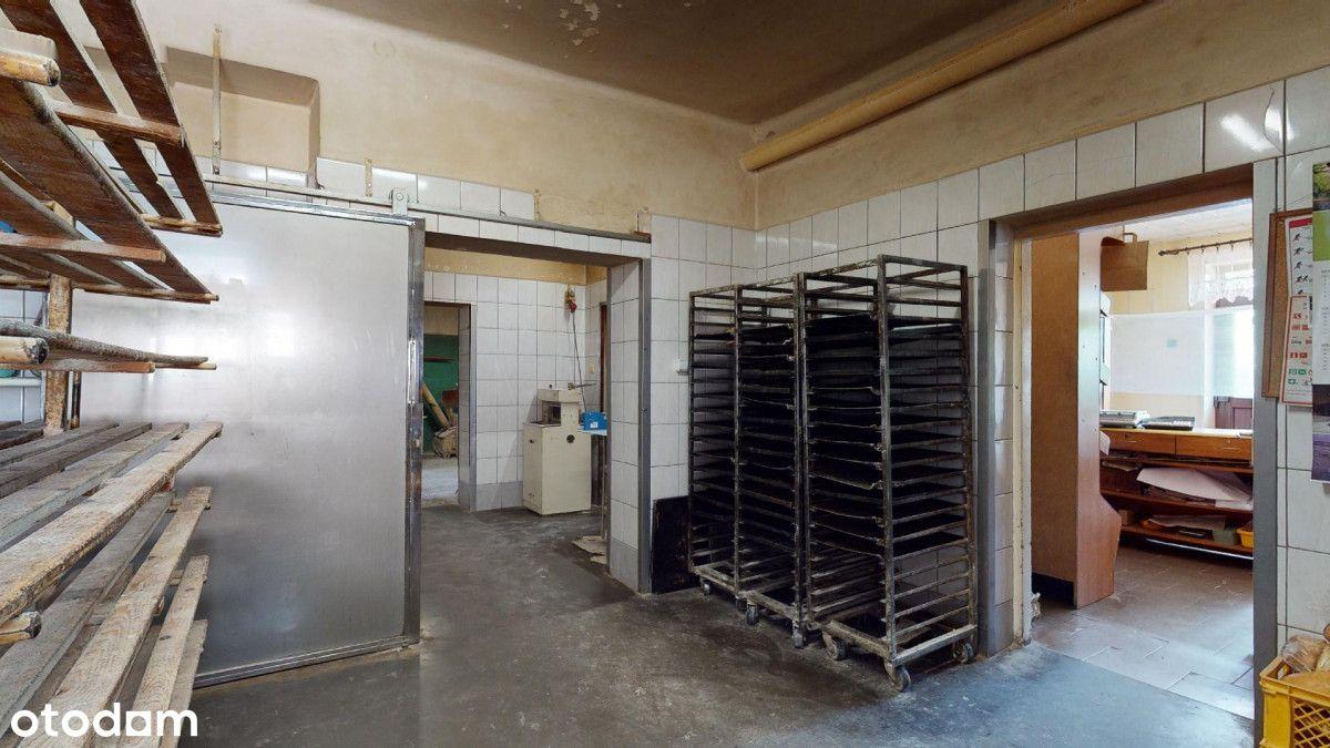 Budynek pod produkcję z częścią mieszkalną
