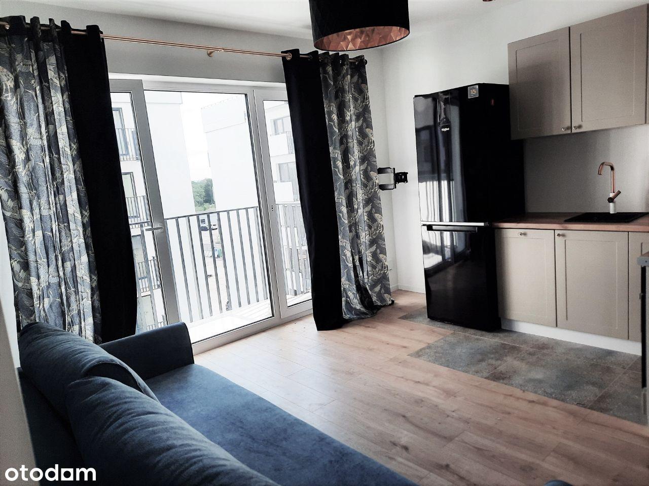 Nowoczesny wykończony 2-pokojowy apartament