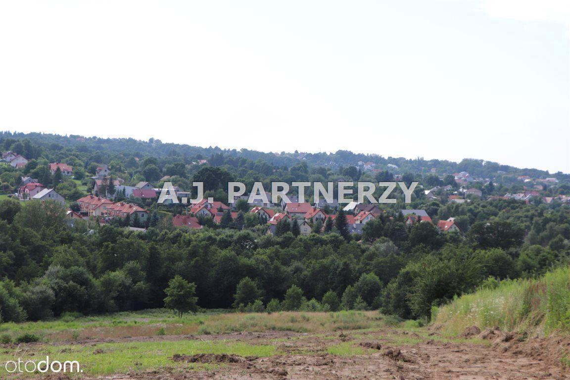 Duża działka z pięknym widokiem koło Wieliczki