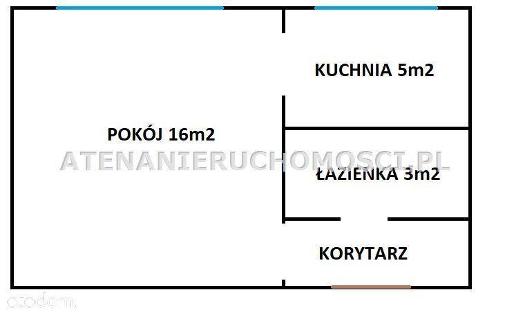 Kawalerka 27m2, Blok, Do Remontu, Bielawy!
