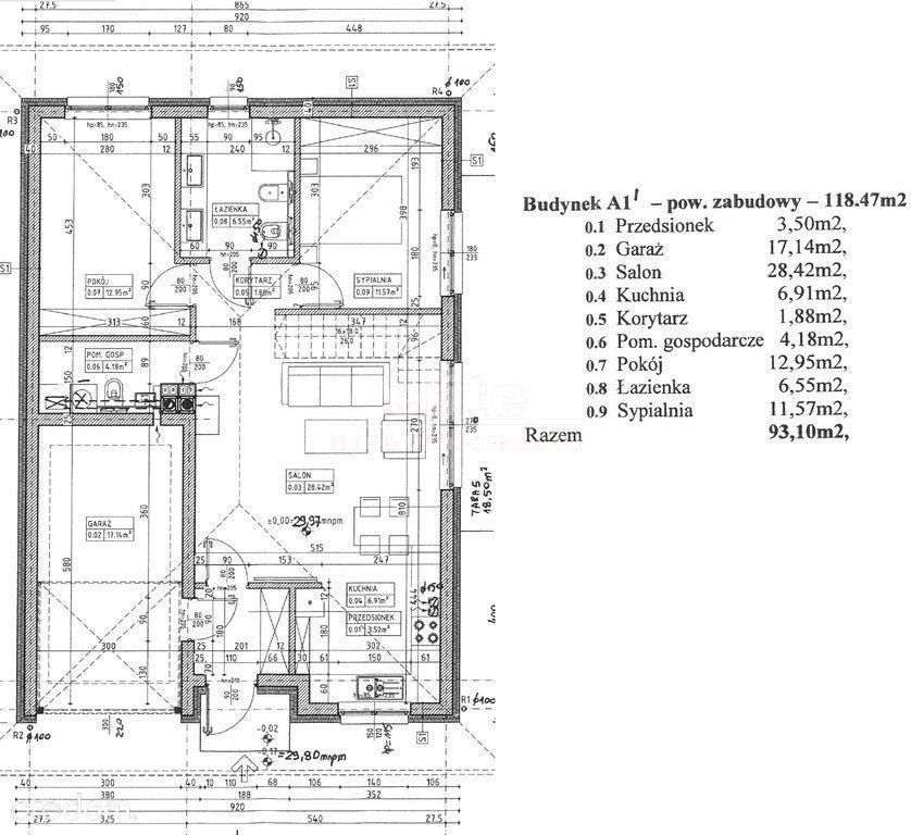 Dobra 3-4 lub 5 pok, garaż, działka 398 m2
