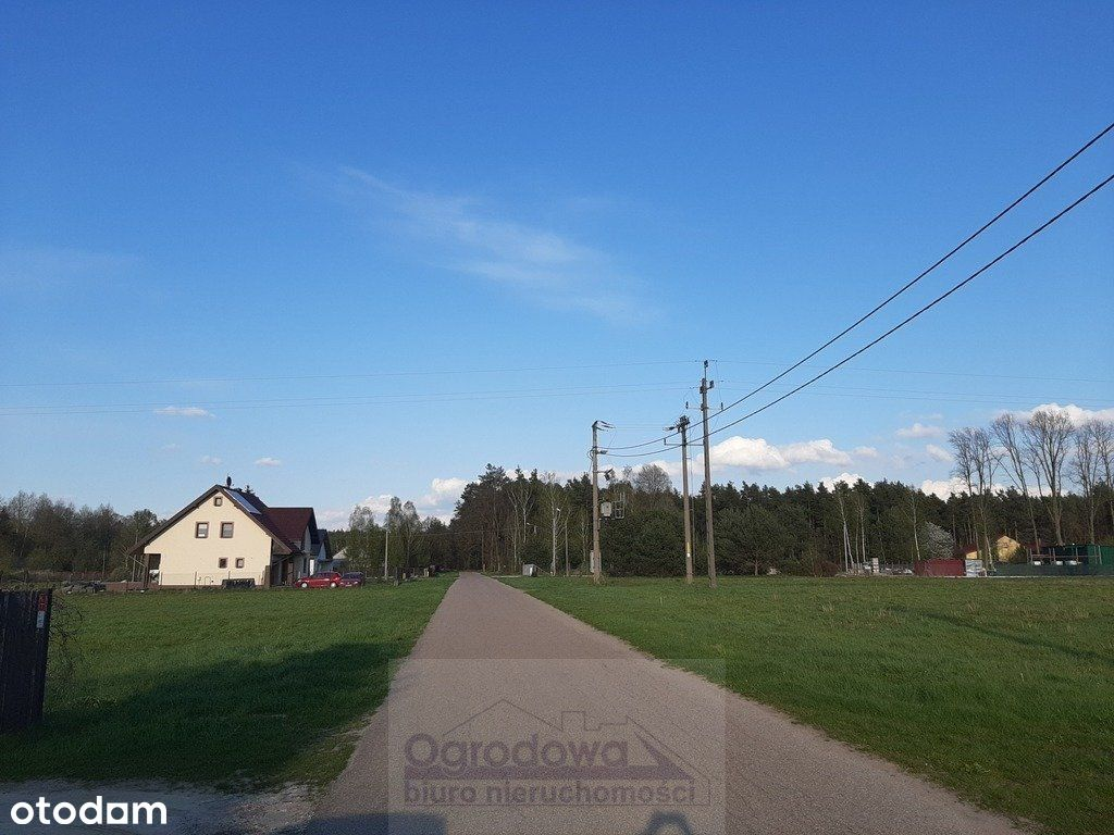 Działka budowlana, koło Tłuszcza, bez prowizji