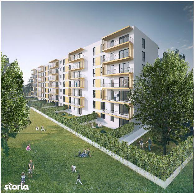 Apartament 2 camere-curte 70 mp Finalizat Theodor Pallady
