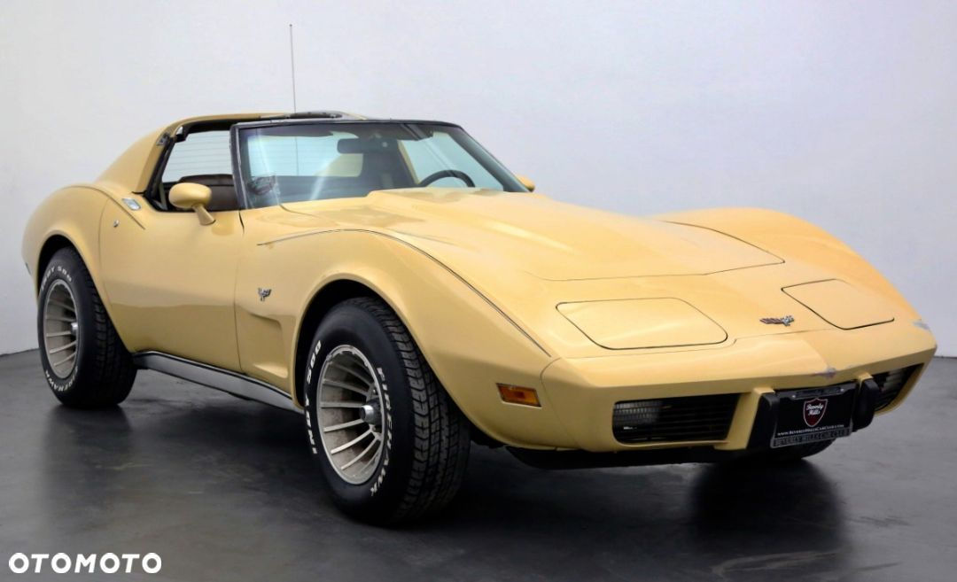 Chevrolet Corvette C3 T Top Matching Numbers - 1