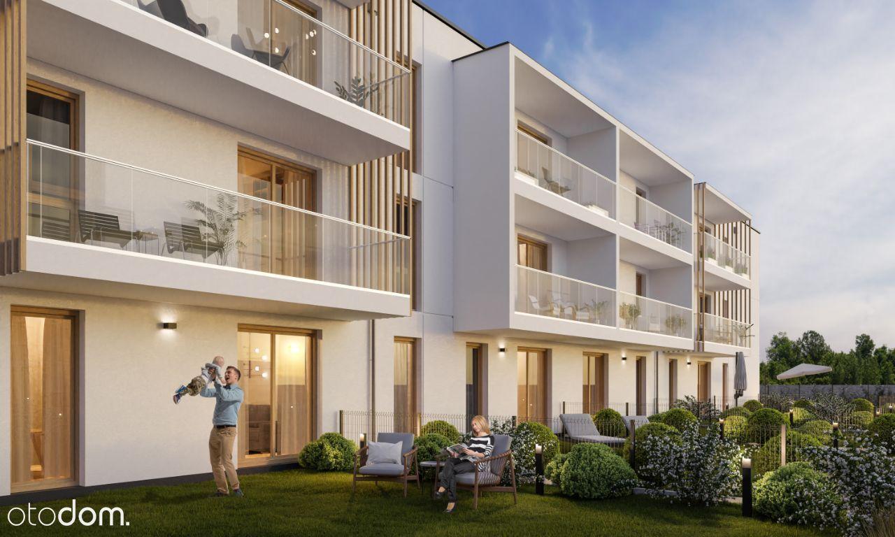 Nowoczesne mieszkanie 3 pok. z balkonem 45.27 m2