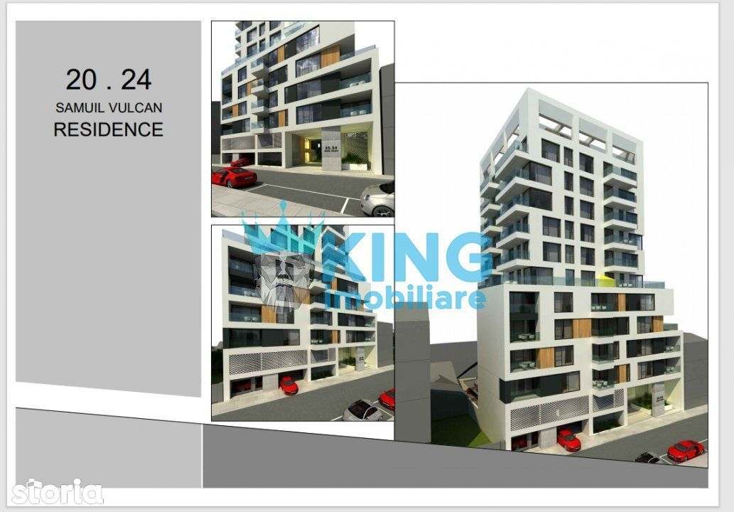 Apartament 2 Camere   Samuil Vulcan Residence   Stadiu de Proiect