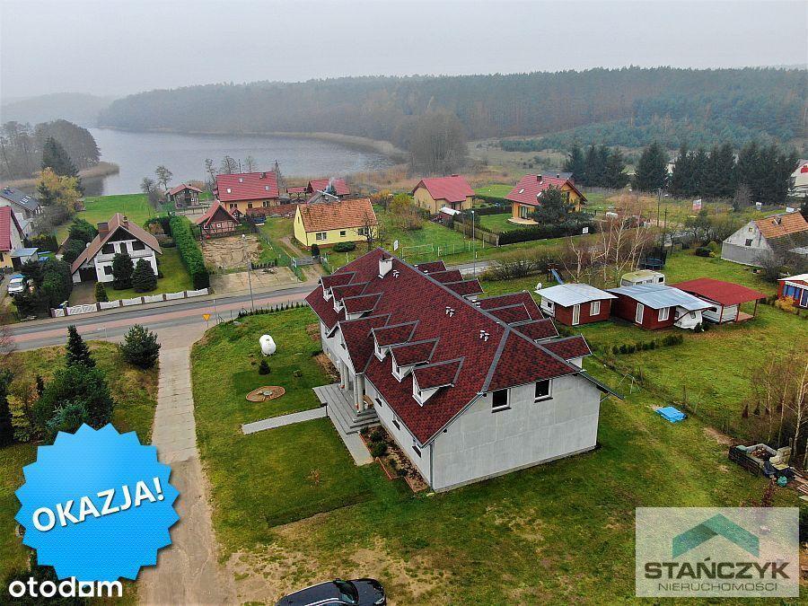 Pensjonat 720 m2 nad jeziorem 3 km od morza