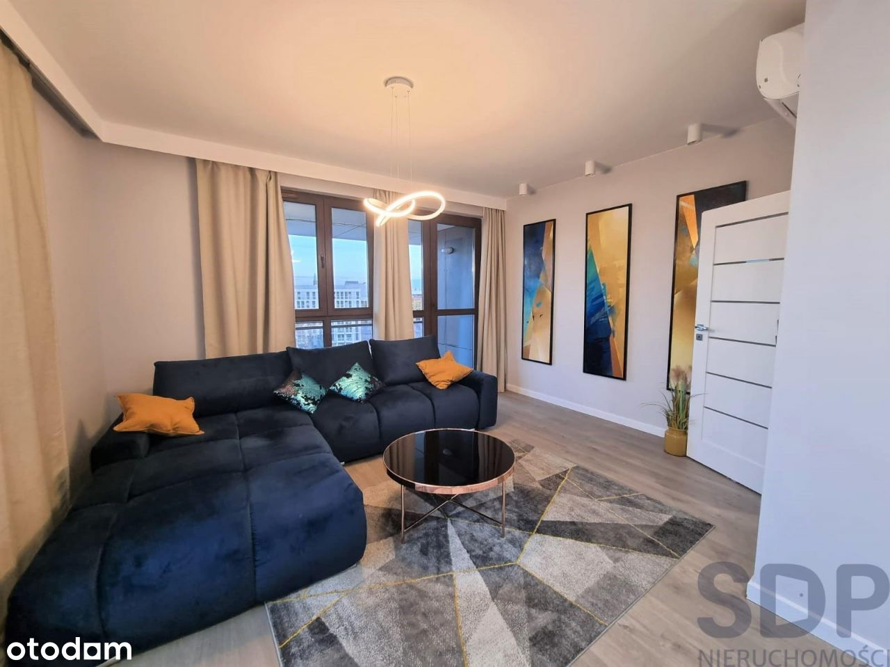 Nowy apartament Odra T. 60m2,2 osobne pok.+ osobna