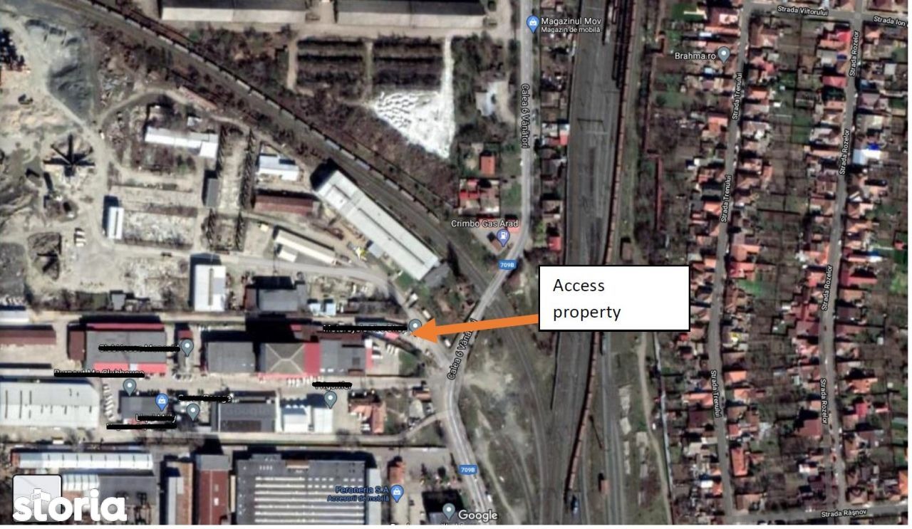 Zona Industriala - Apartamente/Cladire Birou + Hale + Teren, Arad