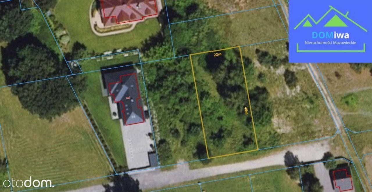 Działka budowlana, 1010 m², Białołęka, Kobiałka