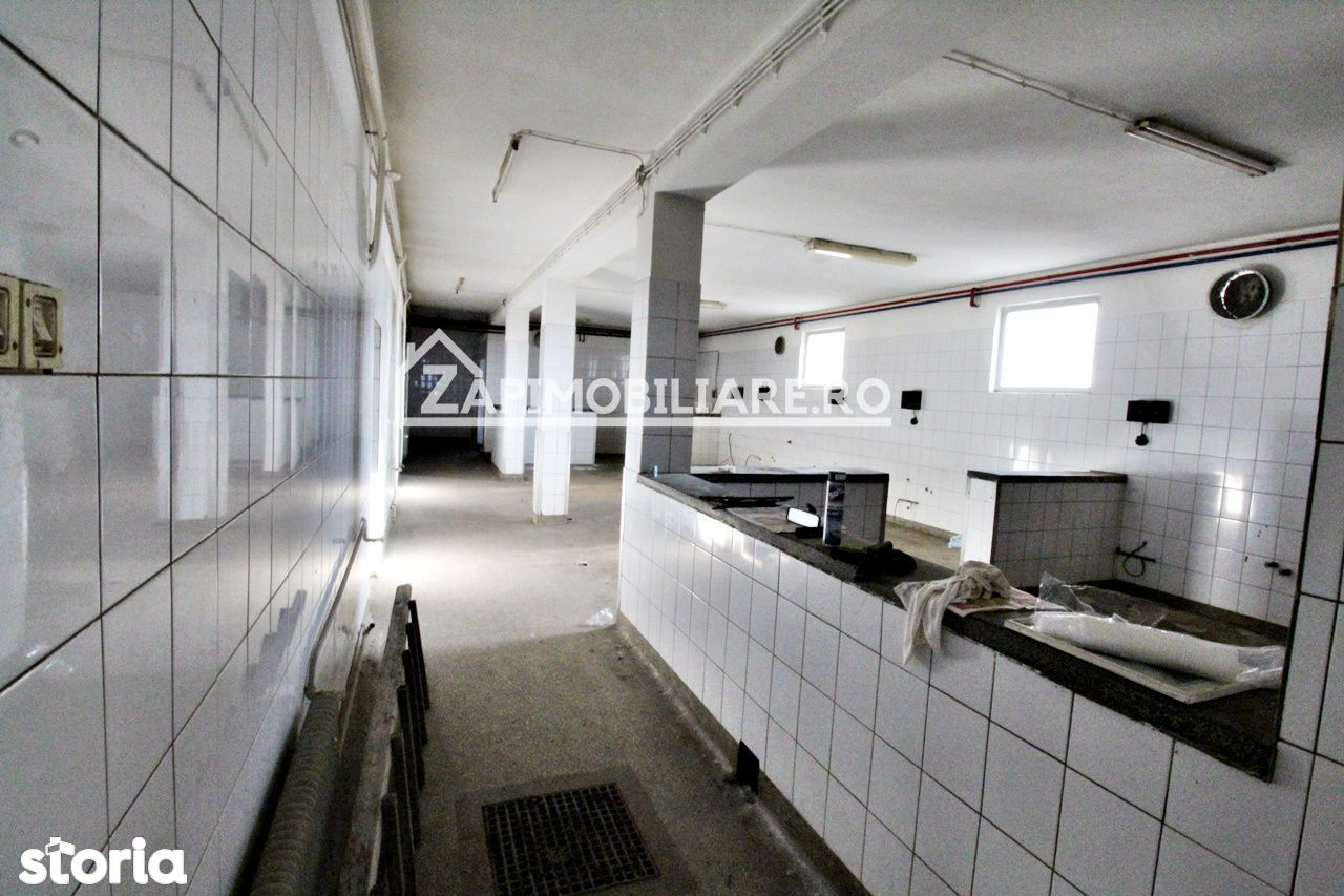 Spațiu industrial 762mp, 1345 teren, Sântana de Mureș