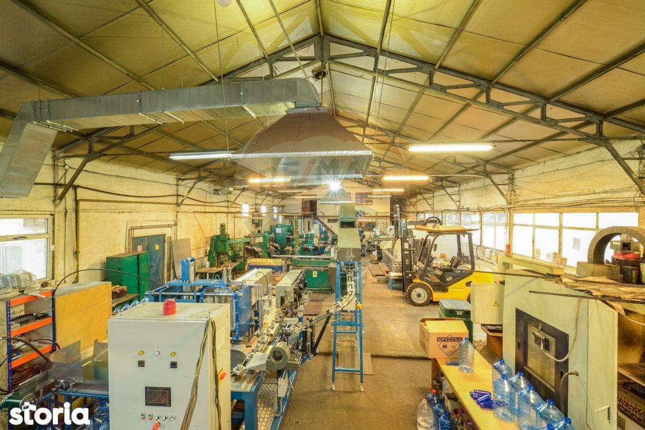 Hala 820 mp productie si depozitare Bucurestii Noi