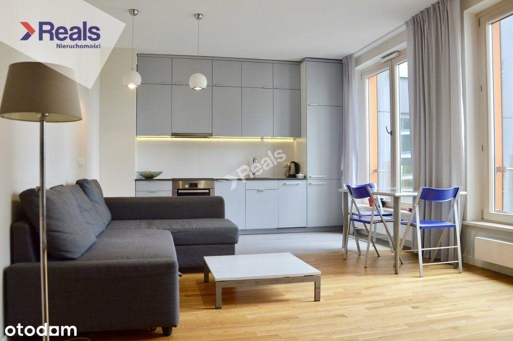 Lux 2 pokoje w apartamentowcu przy Krochmalnej.