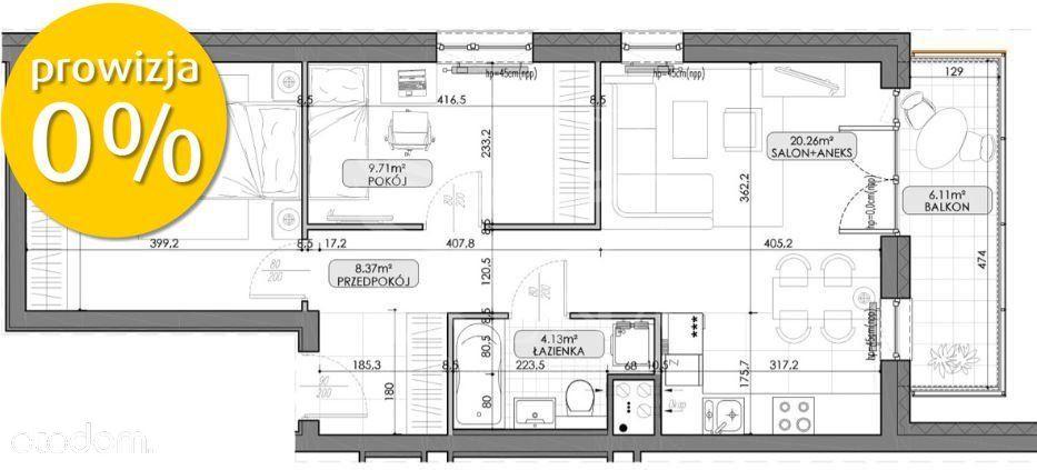 3 pokojowe mieszkanie na nowym osiedlu