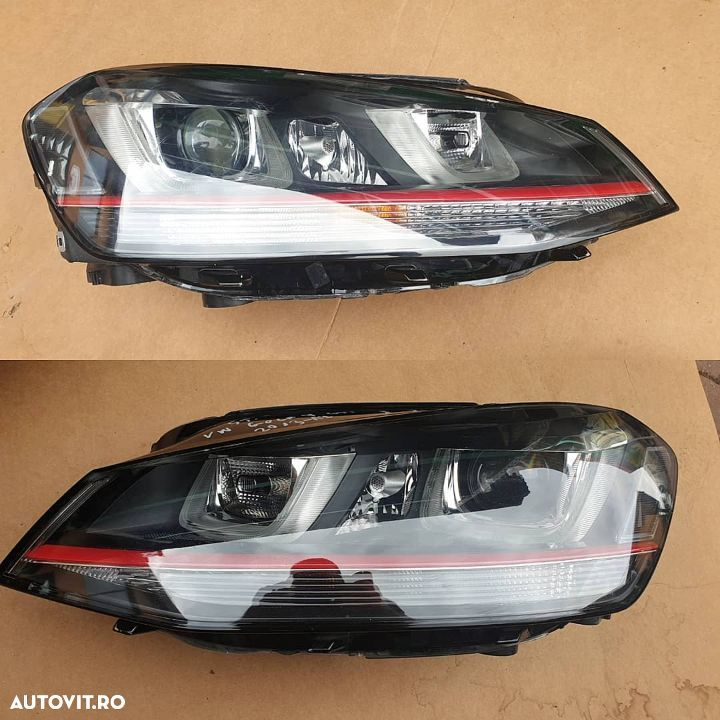faruri led+xenon vw golf vll gti 2013/2017 - 1