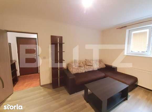 Apartament 2 camere, 40 mp, mobilat, parcare, zona Piata Cipariu