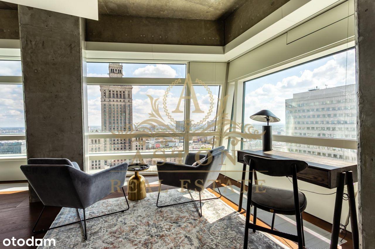 Amazing apartment on 24th floor on Złota 44