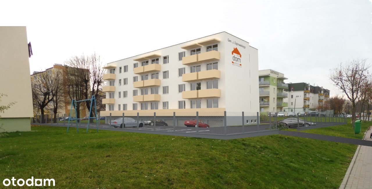Nowe mieszkanie w budynku Dąbrowskiego 8