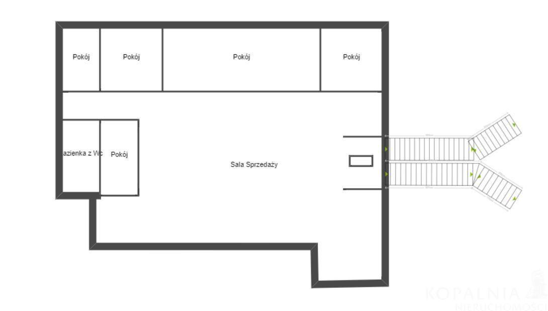Lokal użytkowy, 180 m², Mysłowice
