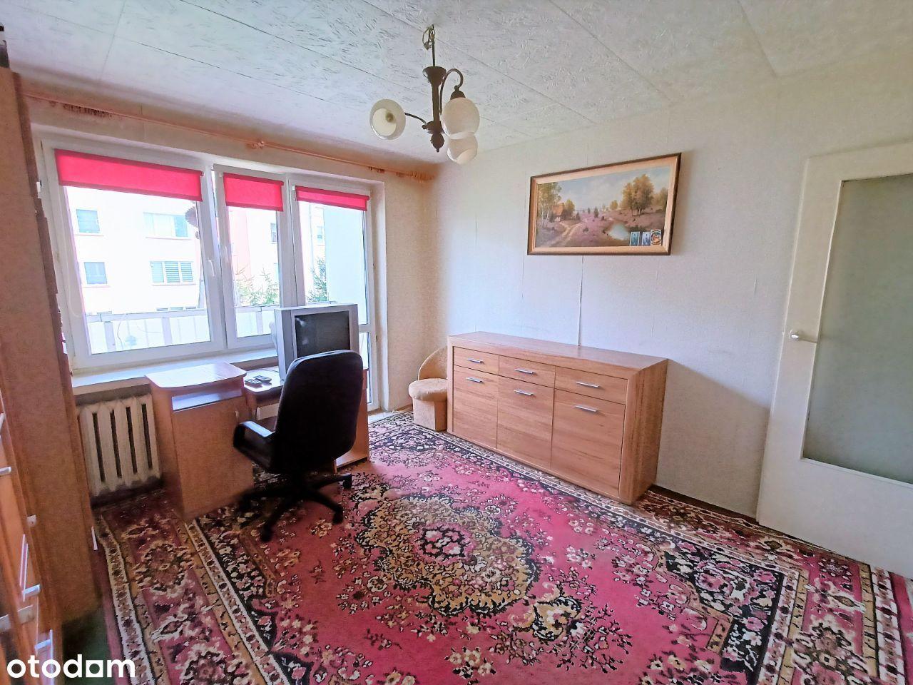 OLECKO, mieszkanie 54,10 m2, na I piętrze.