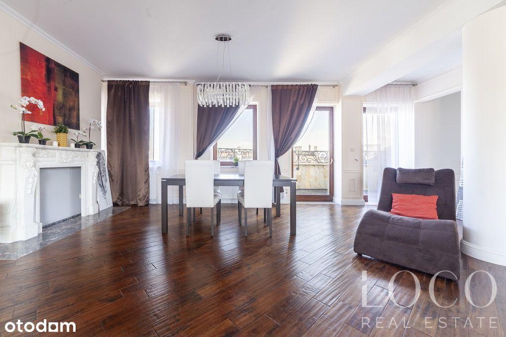 Penthouse 150m2 z widokiem na Wisłę-Mariensztat