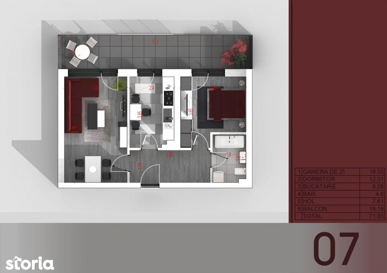 Apartament 2 camere - Parc I.O.R - Titan - Metrou Titan
