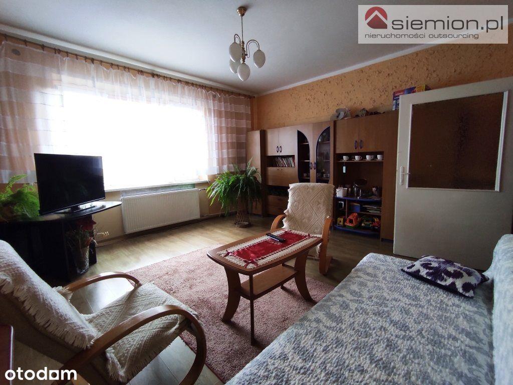 3 pokoje w domu dwurodzinnym - parter