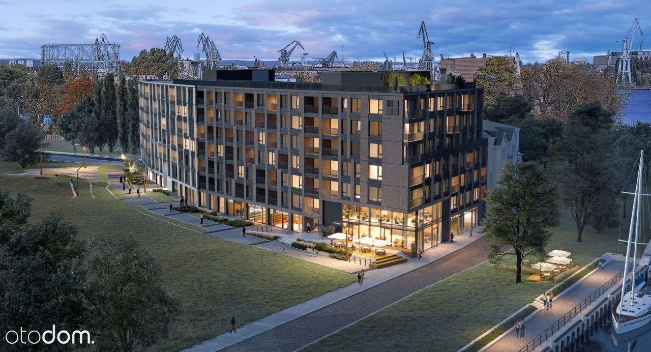 CHLEBOVA- apartamenty inwestycyjne nad Motławą 23%