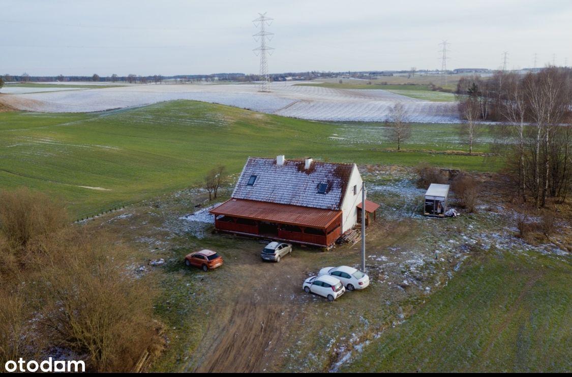 Siedlisko z domem na mazurach 10 ha Olszewki k. S