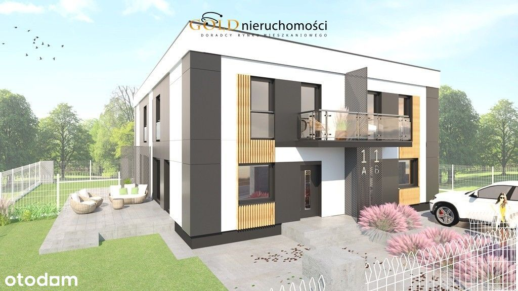 Nowoczesne apartamenty z ogrodem w Wilkowicach