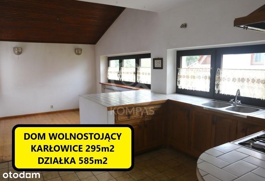 Dom wolnostojący na Karłowicach 295m2