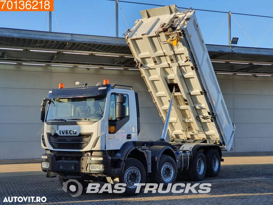 Iveco Trakker HI-Land AD340T45 8X4 Big-Axle Steelsuspension 3-Seiten Euro 6 - 5
