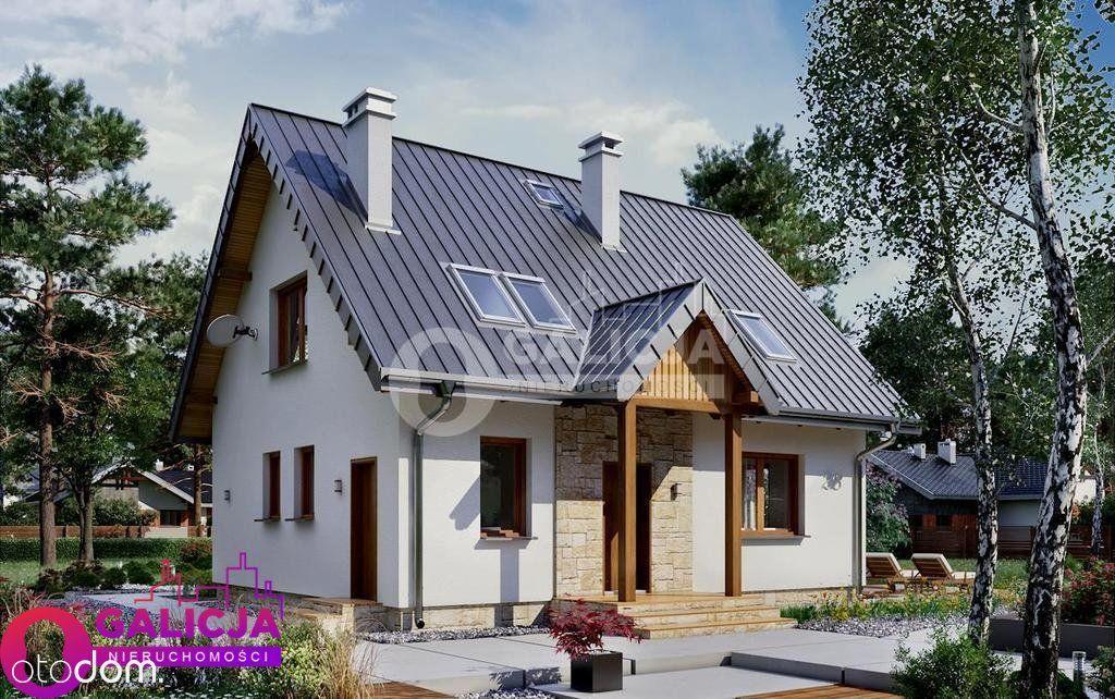 Energooszczędny dom jednorodzinny w ok. Łańcuta.