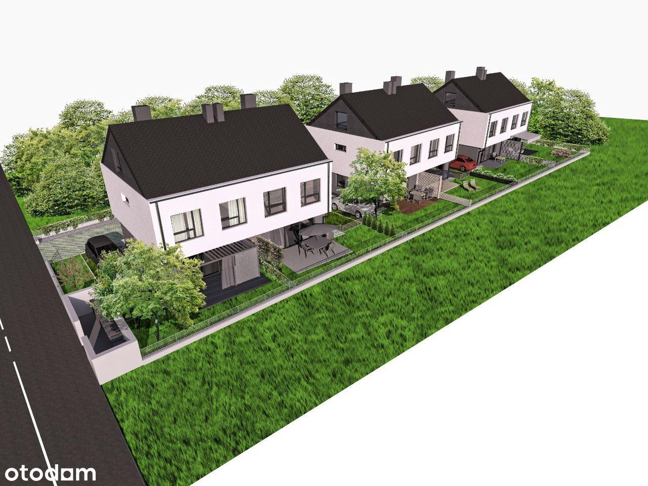 Nowe domy na Krzekowie 110 m2