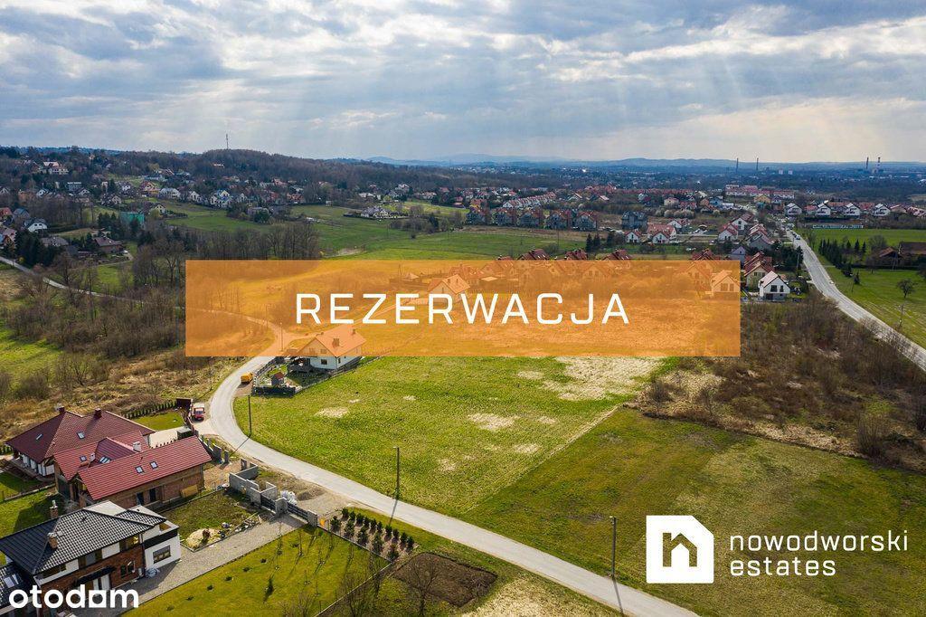 Inwestycyjna działka z Mpzp w Swoszowicach!