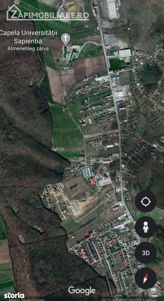 Teren intravilan 504 mp in Corunca,39 eu mp