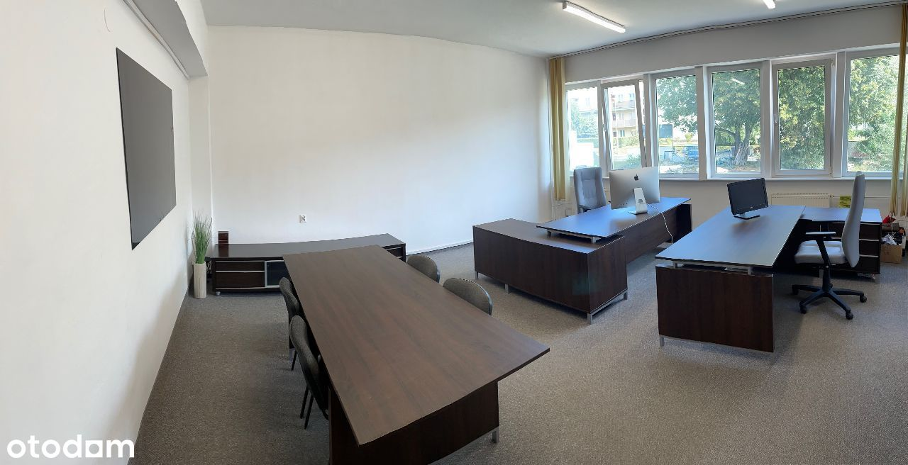 Biuro 35m z pełnym wyposażeniem blisko Centrum