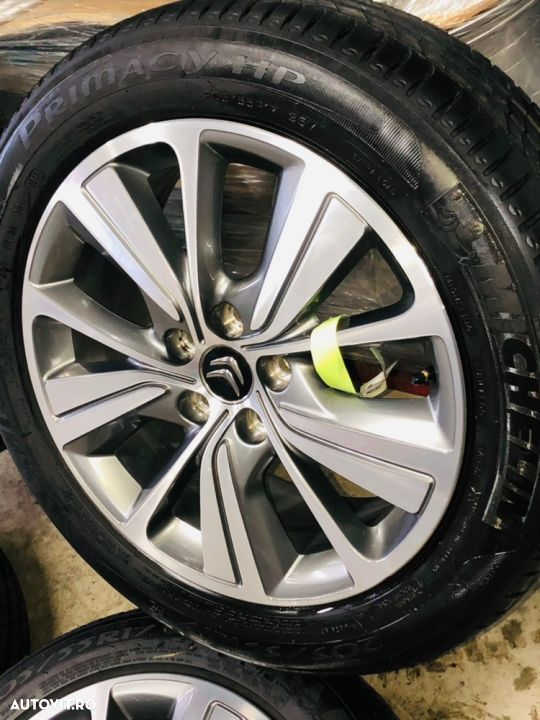 "Jante Citroën C4 Picasso , Grand Picasso , originale , 17"", anvelope vara Michelin - 4"