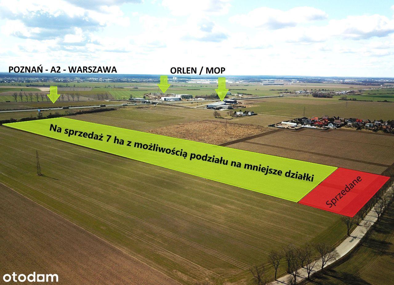 Poznań-Wschód. Teren pod AG z planem miejscowym.
