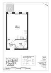 Mieszkanie jednopokojowe. A-II-12