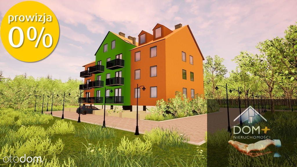 Mieszkanie, 60,16 m², Lubin
