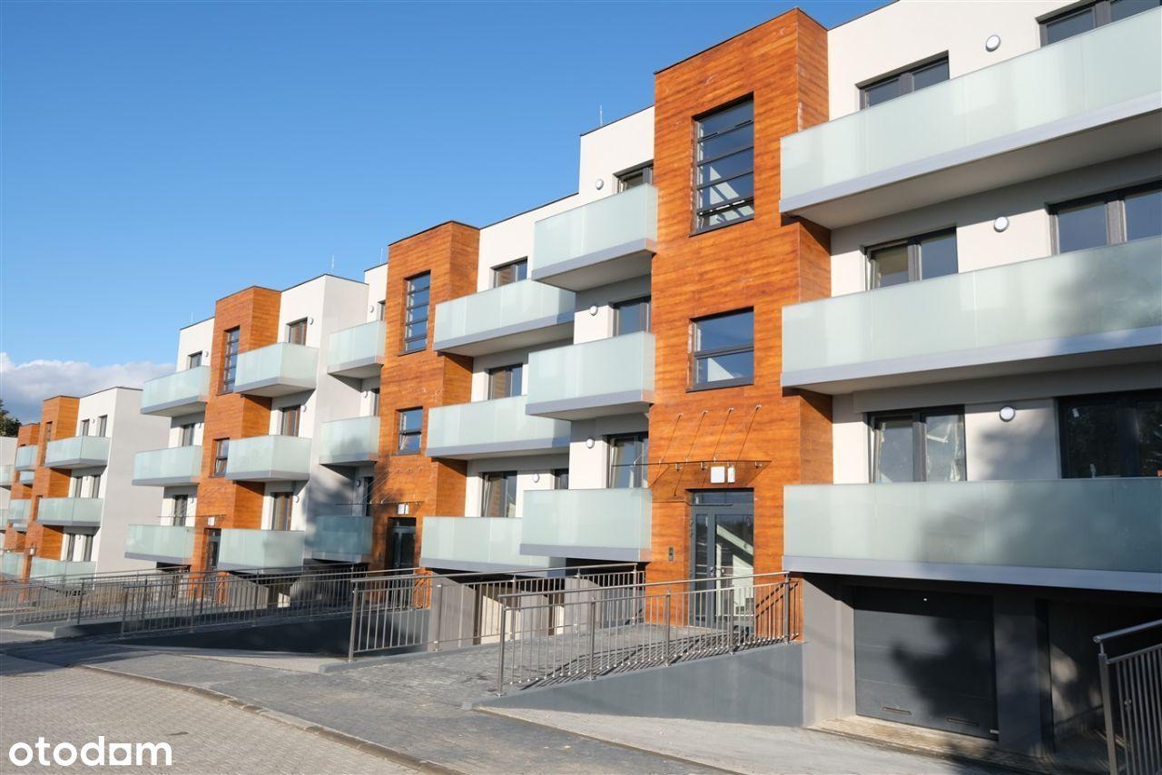 Apartament 3 pok. z komórką lokatorską i ogródkiem