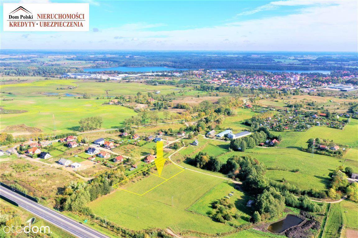 Działki budowlane - 2 km od centrum Olecka