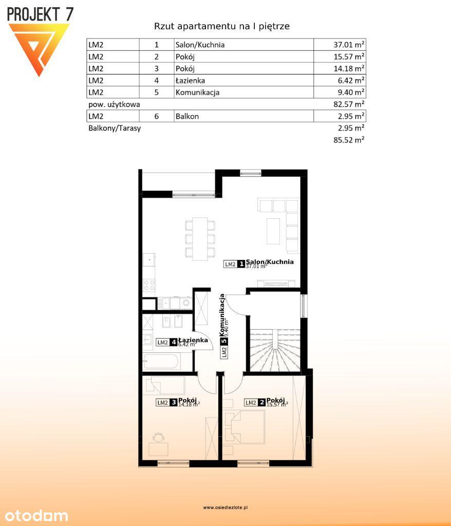 Apartament W Centrum Miasta . Osiedle Złote