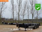 CIMC SC03 20-30-40 Ft. 3 axles Extendable Multifunctional Chassis Liftachse - 1